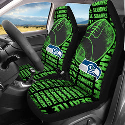 【SEATTLE SEAHAWKS】 CAR SEAT COVERS LIMITED EDITION!