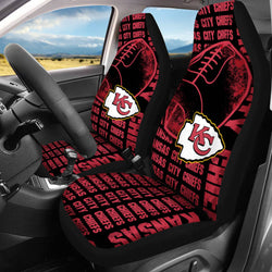 【KANSAS CITY CHIEFS】 CAR SEAT COVERS LIMITED EDITION!