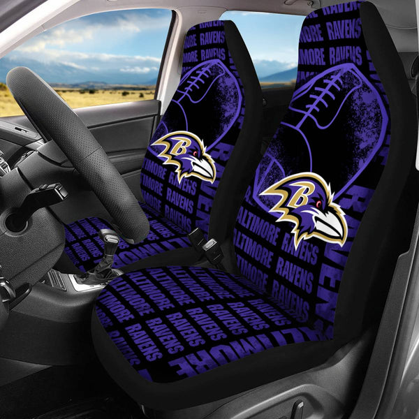 【BALTIMORE RAVENS】 CAR SEAT COVERS LIMITED EDITION!