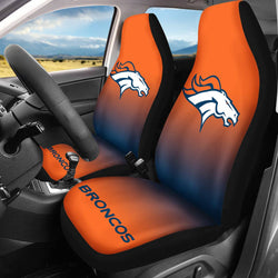 【DENVER BRONCOS】 CAR SEAT COVERS LIMITED EDITION!