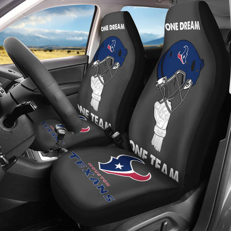 【HOUSTON TEXANS】 CAR SEAT COVERS LIMITED EDITION!