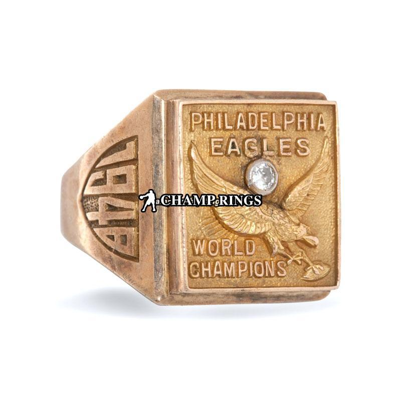 1949 Philadelphia Eagles World Championship Ring