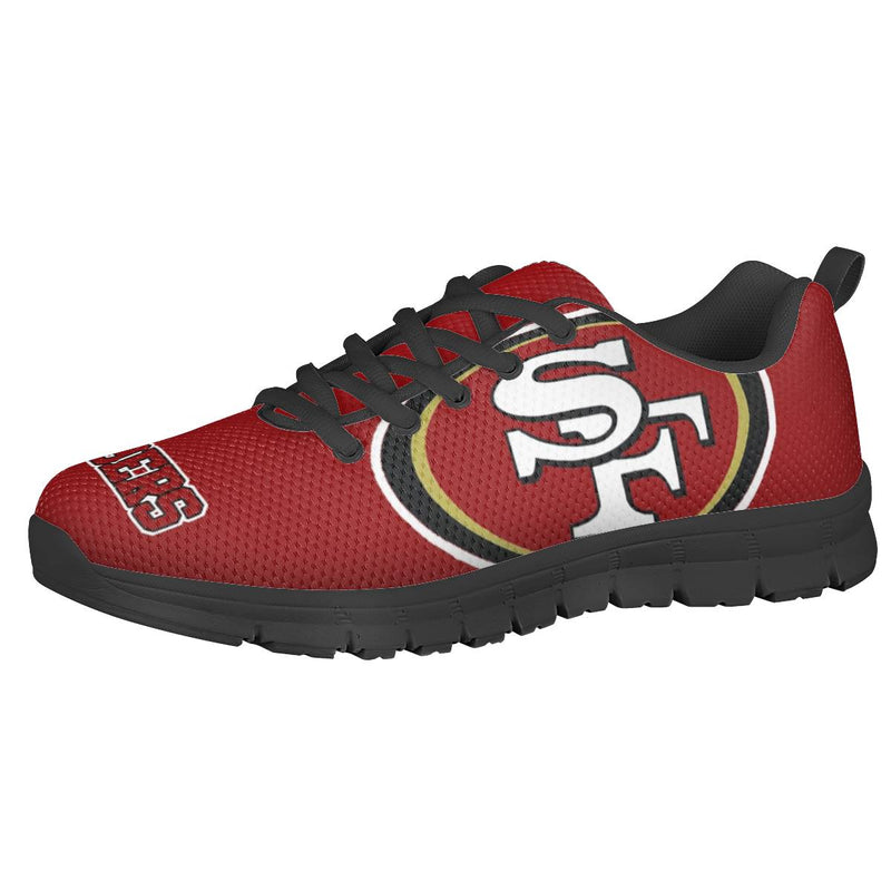 【San Francisco 49ers】NFL LIMITED EDITION FOOTBALL SHOES