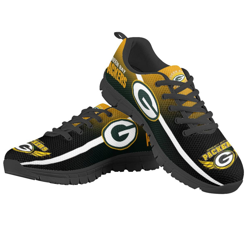【Green Bay Packers】NFL LIMITED EDITION FOOTBALL SHOES