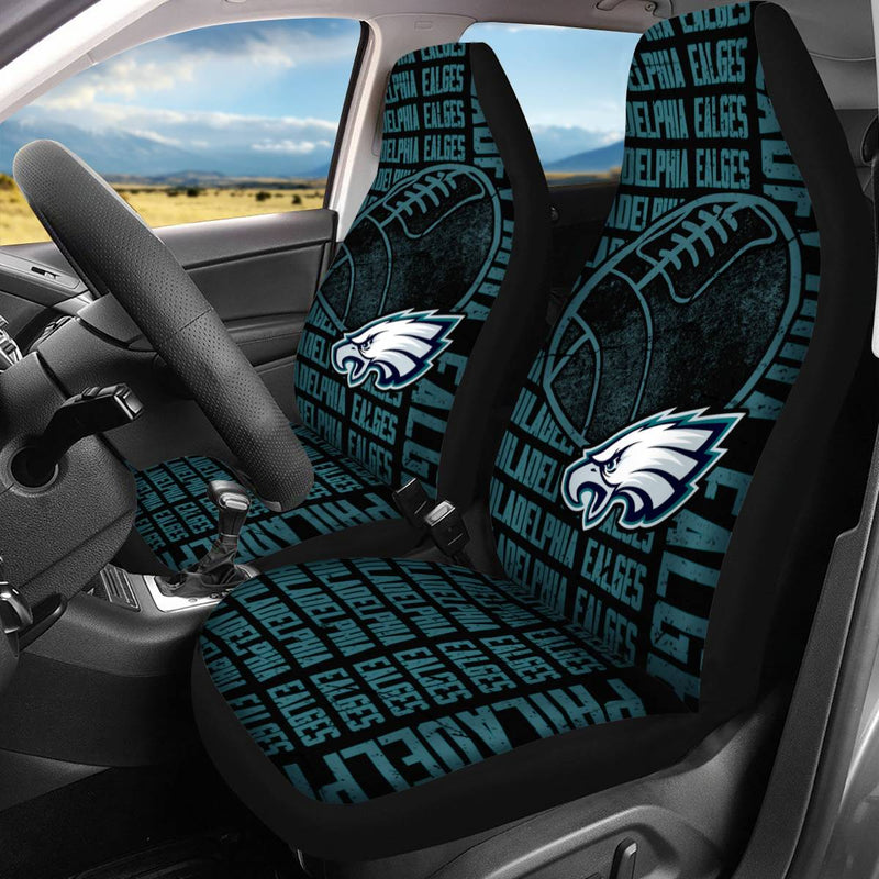 【PHILADELPHIA EAGLES】 CAR SEAT COVERS LIMITED EDITION!