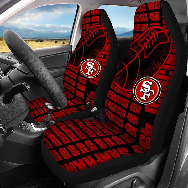 【SAN FRANCISCO 49ERS】 CAR SEAT COVERS LIMITED EDITION!