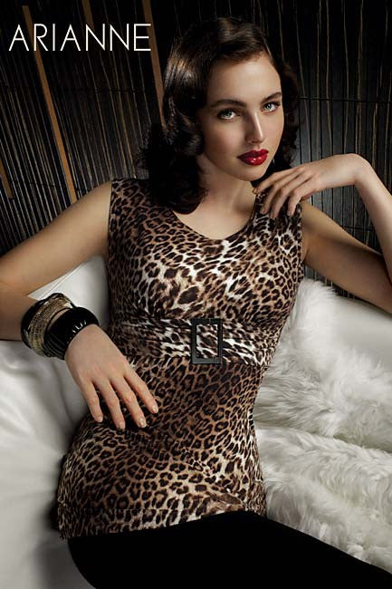 "Arianne Camisole ""Betsy"" - leopard"