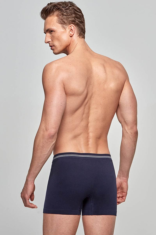 Impetus Retro Cotton Seamless  - blau