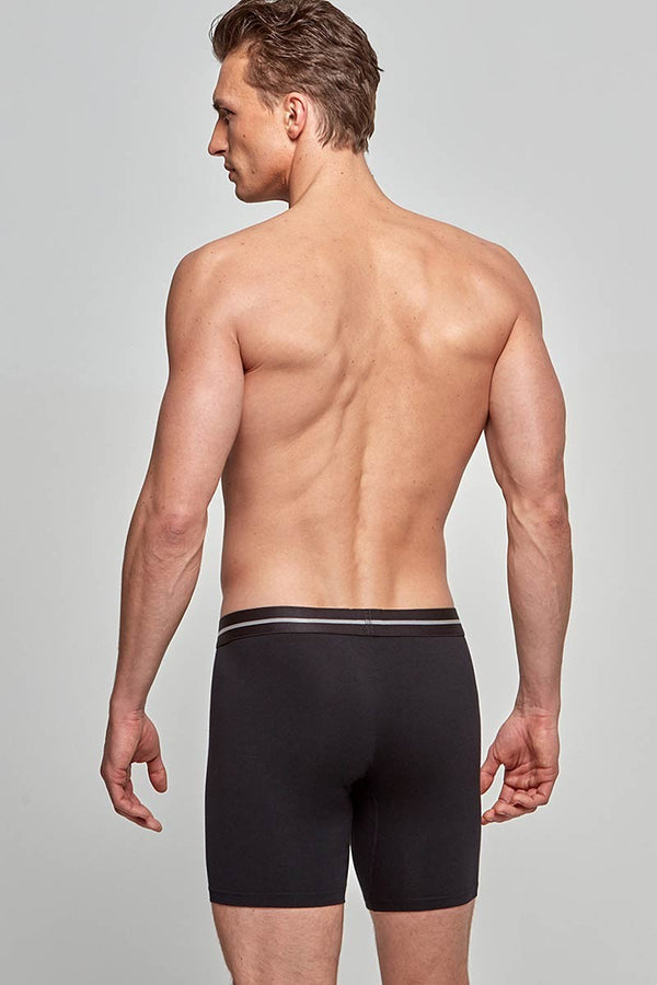 IMPETUS Retro Cotton-Stretch - schwarz