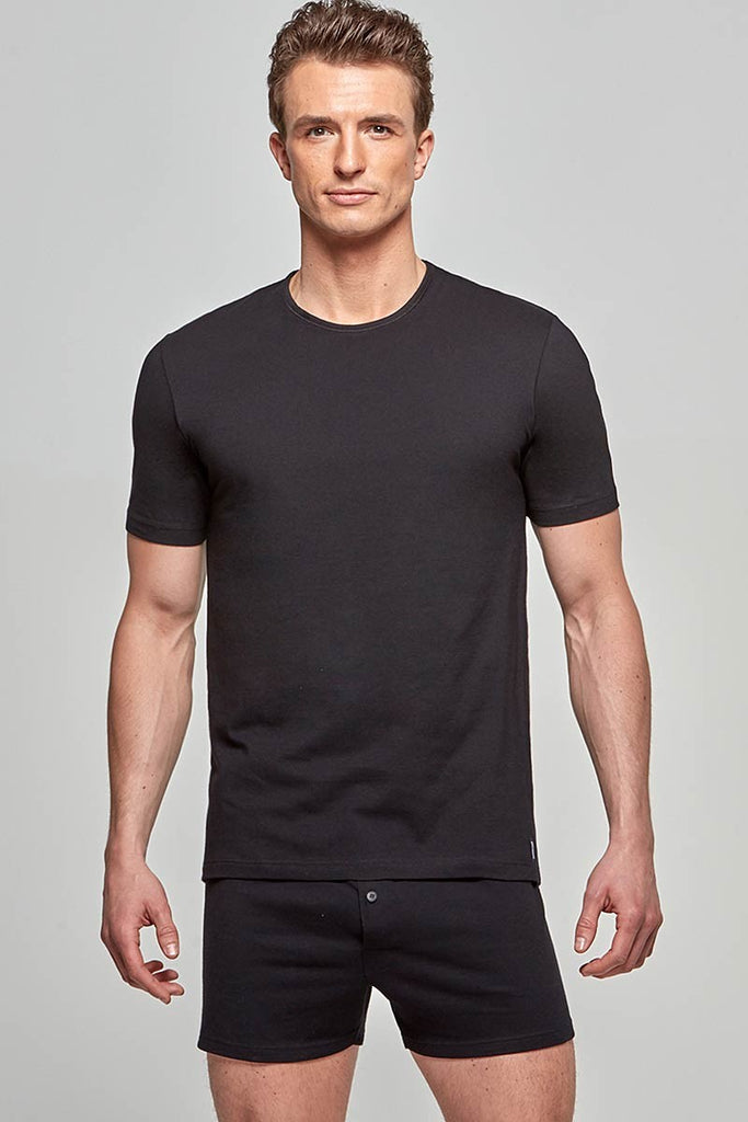 IMPETUS R-Shirt Pure Cotton - schwarz
