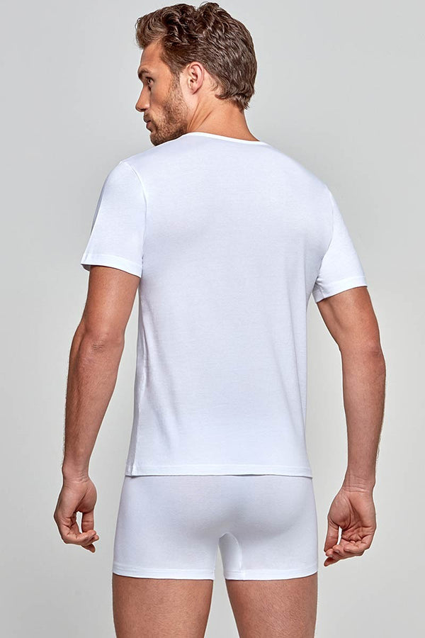 IMPETUS R-Shirt Cotton-Stretch - weiß