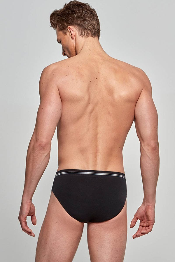 IMPETUS Slip Cotton Seamless - schwarz