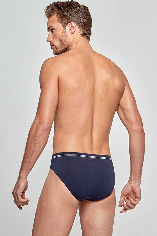 IMPETUS Slip Cotton Seamless - blau
