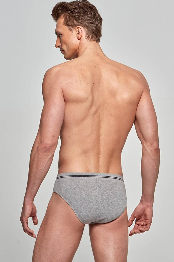 IMPETUS Slip Cotton Seamless - grau