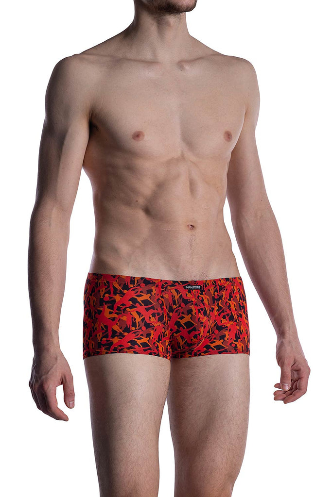 Manstore Micro Pants M2005 - red/black