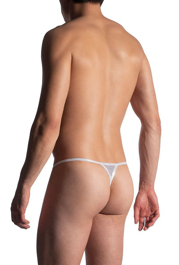 Manstore Stripper String M907 - white