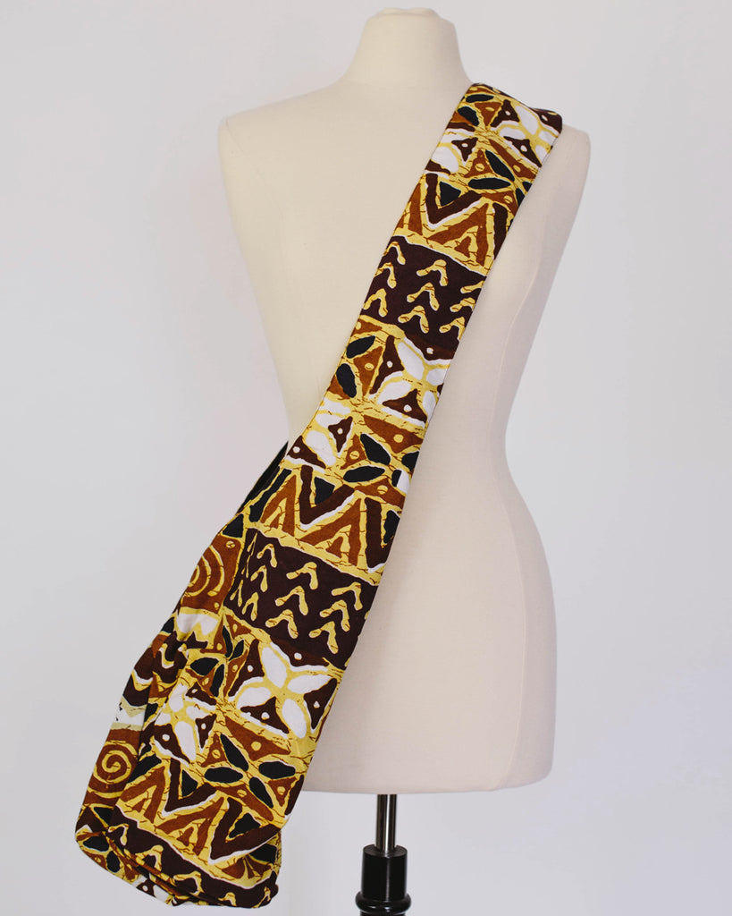 Cross-Body African Print Kanga Slouchy Bag