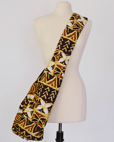 Cross-Body Fabric Bag - African Print