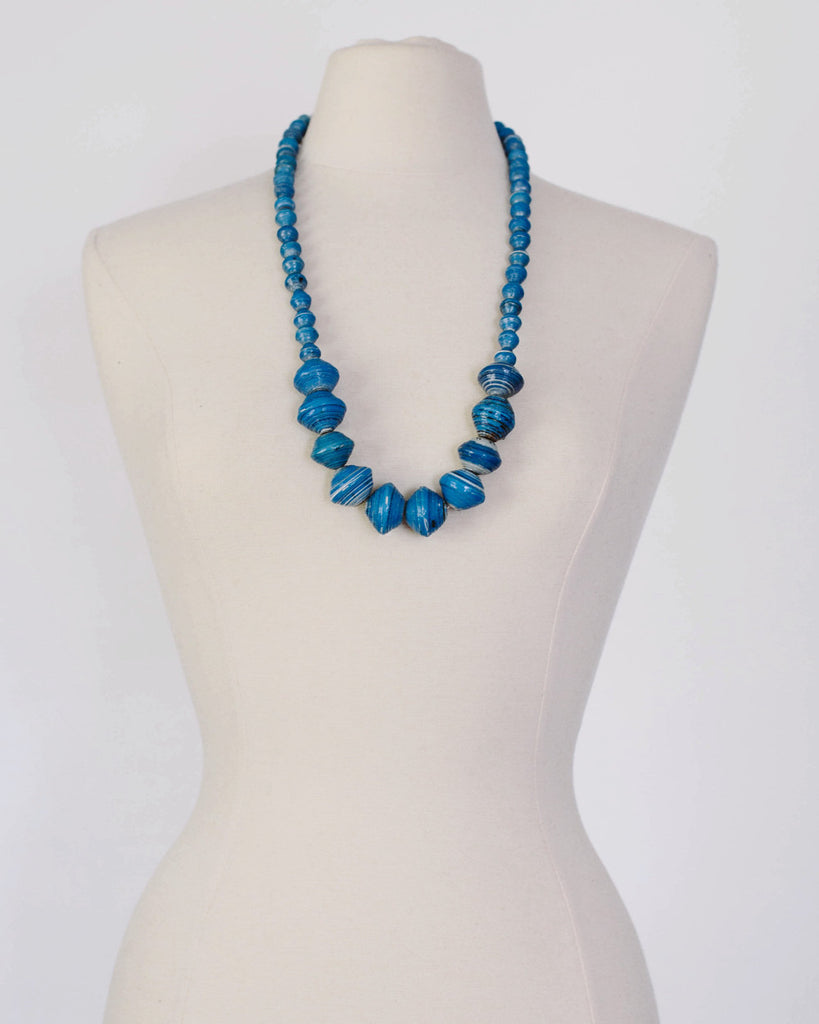 Anastasia Necklace - Bright Blue