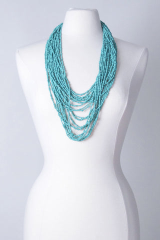 Cascade Necklace - Turquoise