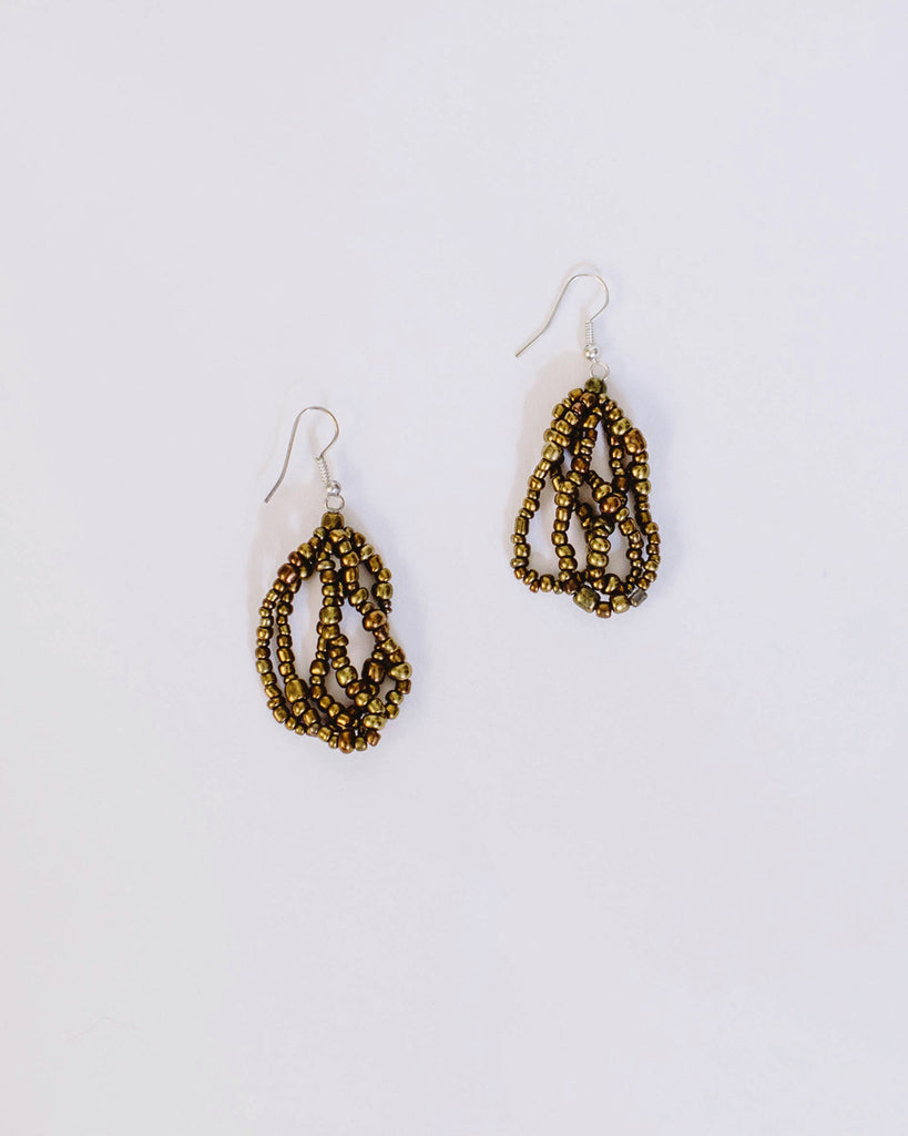 Cascade Earrings - Gold