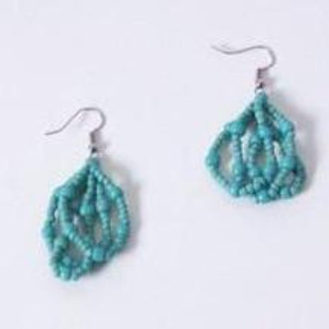 Cascade Earrings - Dark Turquiose