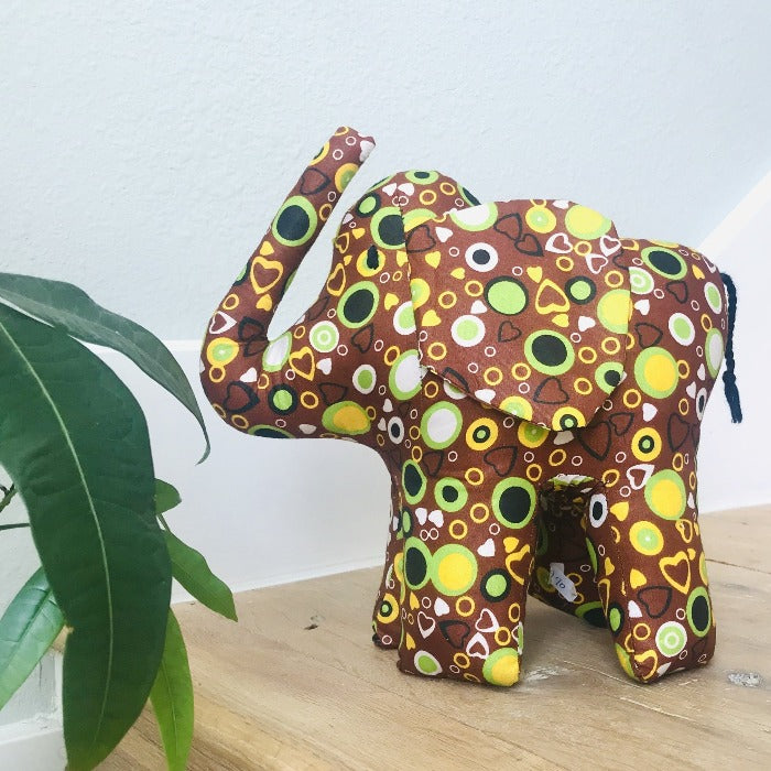 Stuffed Elephant Large - Mod Fabric