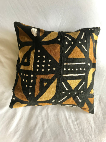 Mud Cloth African Pillow