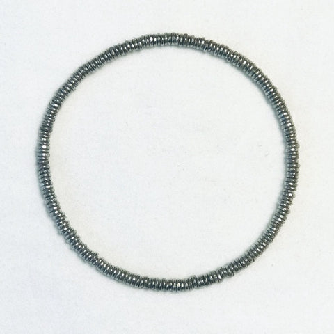 Silver Bangle-Starry Night - Sm/Md-Lg
