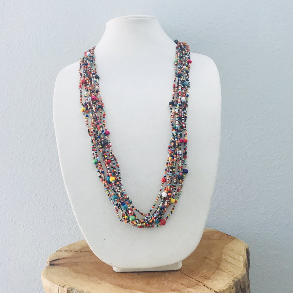 Village Love Beaded Necklace