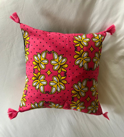 Kanga Hot Pink Pillow