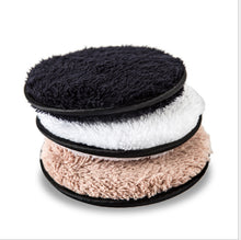 Load image into Gallery viewer, Clear water lazy makeup remover double-sided microfiber suede makeup remover puff