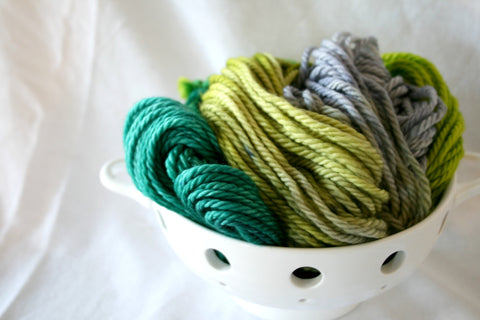 Amazon- Hand Dyed Chunky/Bulky 100% Superwash Merino - 3 PLY