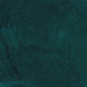 Mulberry Mawata Silk Hankies for Spinning, Knitting and Felting - Arctic Pool - Green Blue