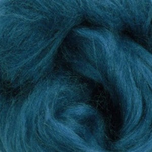 Caribbean Cool (Blue) - Tussah Silk Top (Sliver)