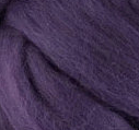 Black Current - 19 Micron Merino Wool Top (Sliver) 100gm (3.5oz)