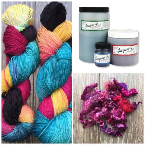 First Time Dyeing Kit for dyeing your own fibre or yarn
