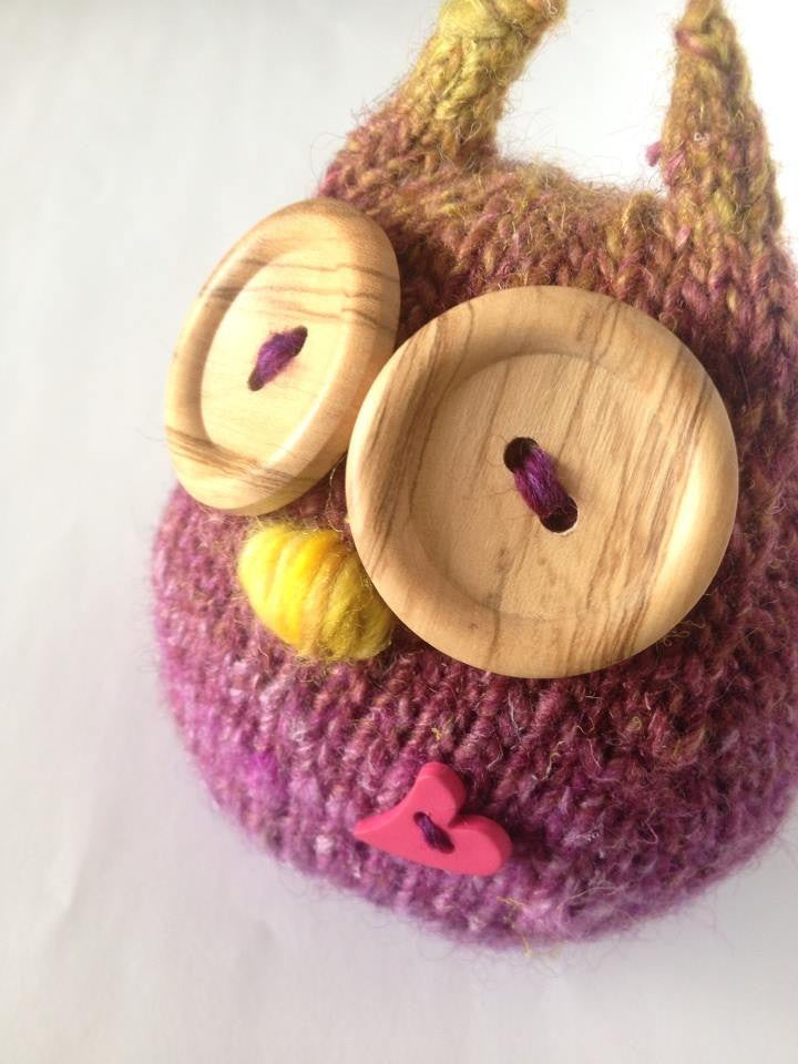 Hand Knit Owl Pattern – Nickelbee Art Studio & Supplies