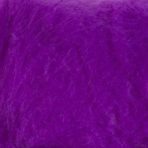 Mulberry Mawata Silk Hankies for Spinning, Knitting and Felting - Summer Lavender - Bright Purple
