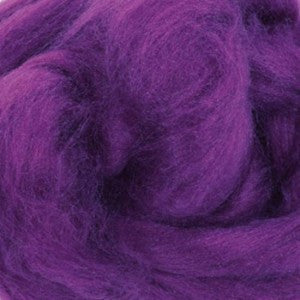 Summer Lavender (Purple) - Tussah Silk Top (Sliver)