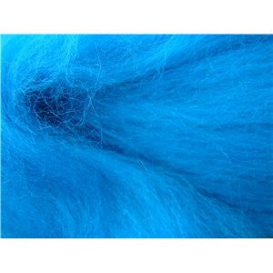 Lakemont Blue - 21 micron Merino Wool Top (Combed Sliver)