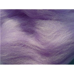 Lavender Meadow - 21 Micron Merino Wool Top (Combed Top)