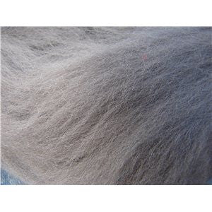 Grey Dusk - 21 micron Merino Wool Top (Combed Sliver)