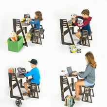 Load image into Gallery viewer, Kids at Home Desk & Stool