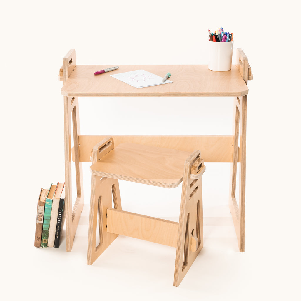Kids at Home Desk & Stool