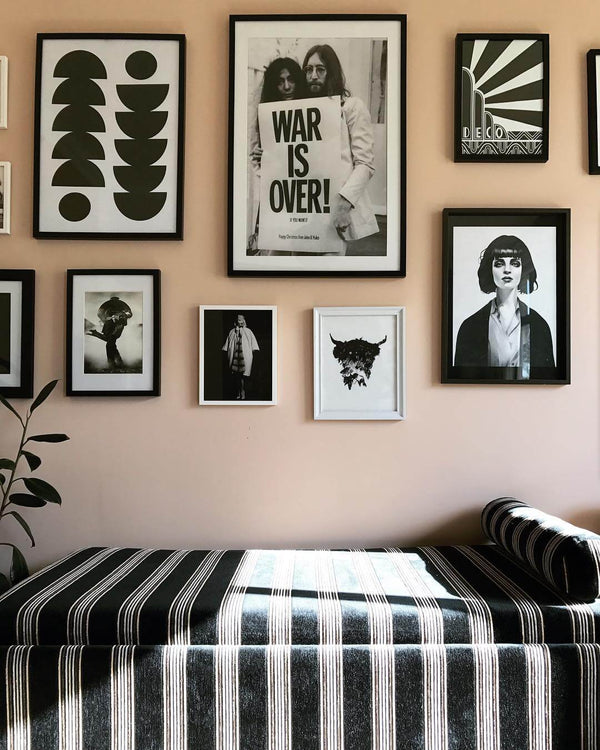 Make a feature wall for your home like Michelle Mantangi has done here.