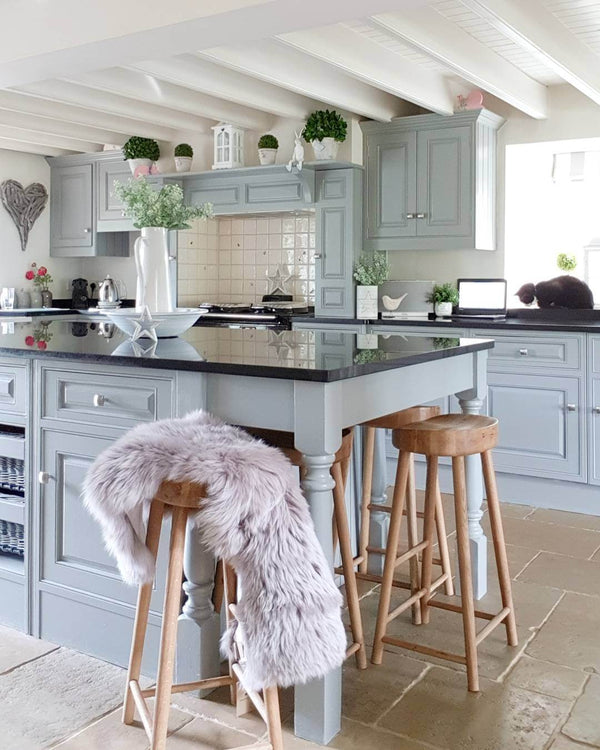 A modern country kitchen with a dash of danish - Hear what Colleen from West Barn Interiors has to say www.lovetohome.co.uk
