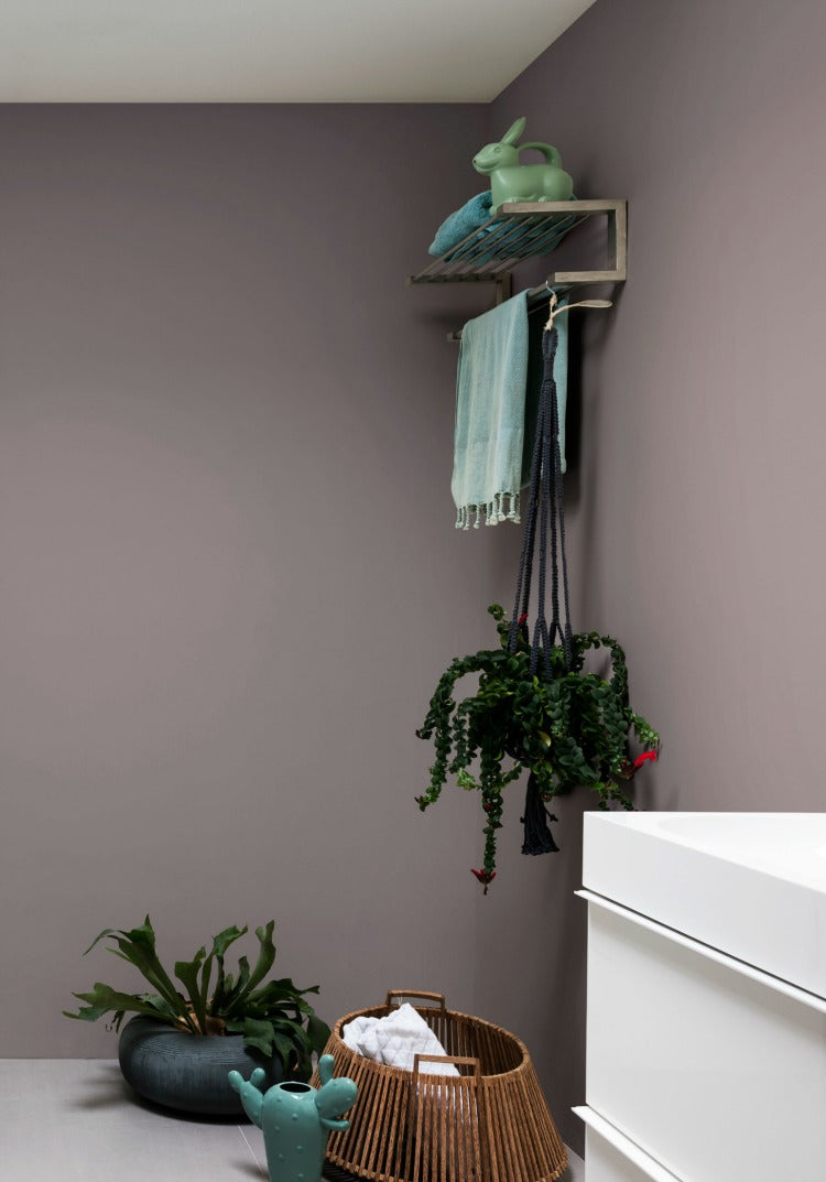 Bathroom in heart wood - What do you think of heart wood - Dulux's colour of the year 2018? Find out more on www.lovetohome.co.uk