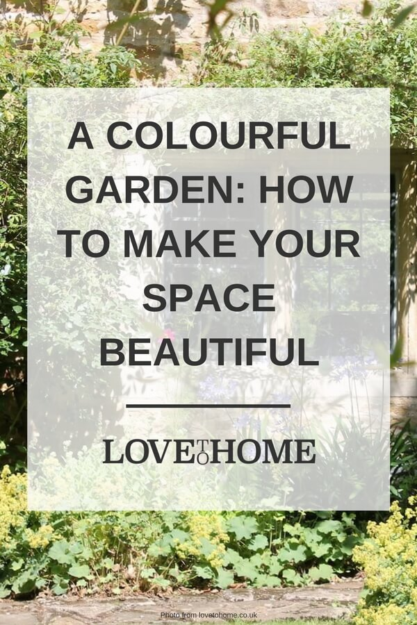 A colourful garden, here's how to make your outdoor space bright and beautiful this summer