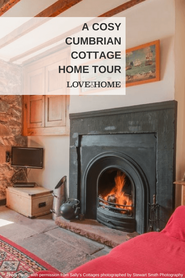 Take a home tour of this cosy Cumbrian cottage